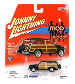 "Johnny Lightning (Woodys & Panels Vintage Series Collection) 1/64 Scale Die-Cast Vehicle (Johnny Lightning Collection Series) ""Rare-Vintage"" (2000-2004))"