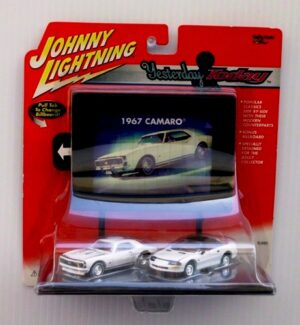 "Johnny Lightning (Yesterday & Today Limited Edition Anniversary Series Collection) 1/64 Scale Die-Cast Vehicles (Johnny Lightning Collection Series) ""Rare-Vintage"" (2000-2001)"