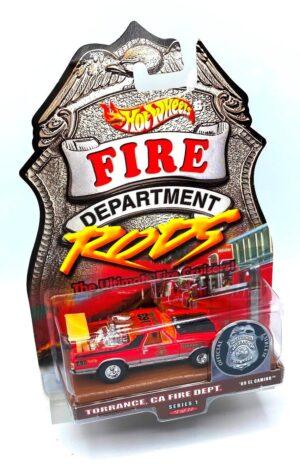 '69 El Camino (2 0f 12 Torrance, Ca Fire Dept.) Fire Rods (4)