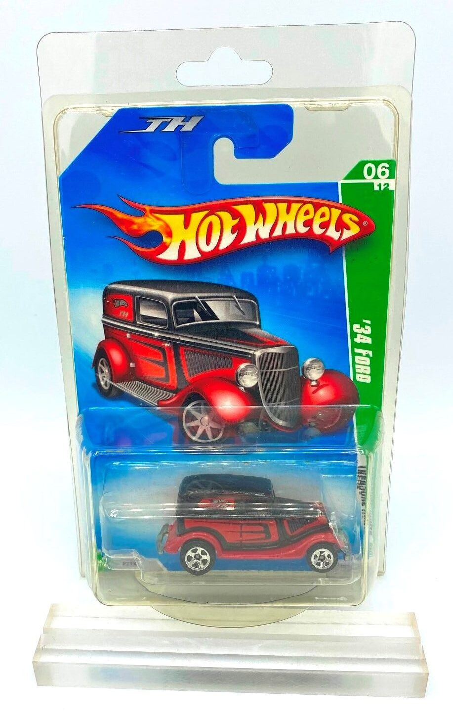 2009 Hot Wheels Treasure Hunts '34 Ford Limited Edition Short Card Rare