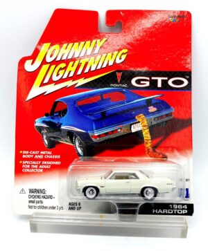 """Johnny Lightning Authentic Replicas """"Vintage GTO Pontiac 75th Anniversary Series"""" (1:64 Scale Die-Cast Vehicles Collection) """"Rare-Vintage"""" (2001)"""