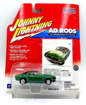 """Johnny Lightning Authentic Replicas """"Vintage Ad Rods Series"""" 1:64 Scale Die-Cast Vehicles (Limited Edition & Real Wheels Series Collection) """"Rare-Vintage"""" (2000-2004)"""