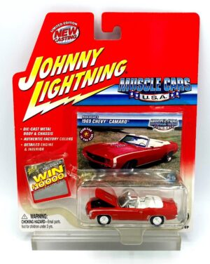 """Johnny Lightning Authentic Replicas """"Vintage Muscle Cars U.S.A."""" 1:64 Scale Die-Cast Vehicles (Limited Edition & New Casting Series Collection) """"Rare-Vintage"""" (2000-2004)"""