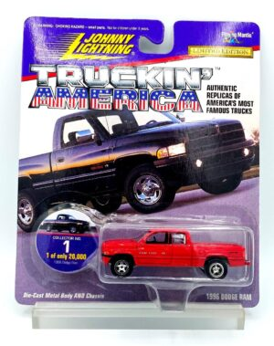 """Johnny Lightning Authentic Replicas """"Vintage Truckin' America"""" 1:64 Scale Die-Cast Vehicles (Limited Edition Series) """"Rare-Vintage"""" (1997-1999)"""