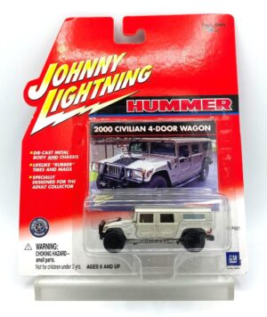 """Johnny Lightning Authentic Replicas """"Vintage Hummer Sports-Utility Vehicles"""" Die-Cast Metal Body And Chassis w/Real Wheels Series (Playing Mantis 1:64 Scale) """"Rare-Vintage"""" (2000-2003)"""