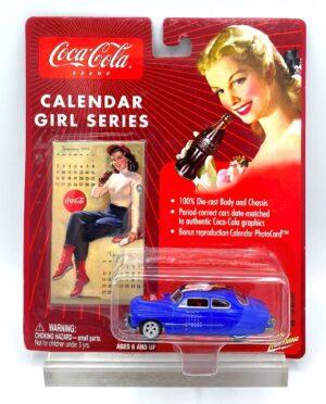 "Johnny Lightning Authentic Replicas ""Vintage Coca-Cola Calendar Girls Series! Collection"" 1/64 Scale Die-Cast Vehicle (Johnny Lightning Collection Series) ""Rare-Vintage"" (2000-2004)"