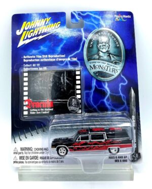 """Johnny Lightning Authentic Replicas """"Vintage Monsters Universal Studios Series"""" 1/64 Scale Die-Cast Vehicles Collection) """"Rare-Vintage"""" (2004-2005)"""