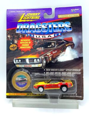 """Johnny Lightning Authentic Replicas """"Vintage Famous Dragsters U.S.A.! Limited Edition Series"""" 1/64 Scale Die-Cast Vehicles (Johnny Lightning Collection Series) """"Rare-Vintage"""" (1994-1998)"""
