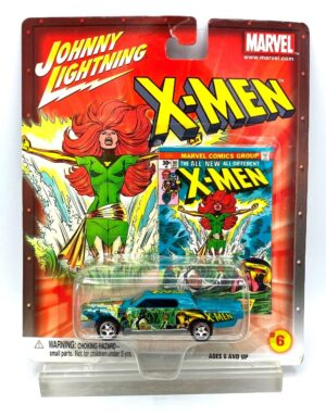 """Johnny Lightning Authentic Replicas """"Vintage Marvel Series Collection""""! (1/64 Scale Die-Cast and Mini-Comic Replicas) Johnny Lightning """"Rare-Vintage"""" (2002-2004)"""