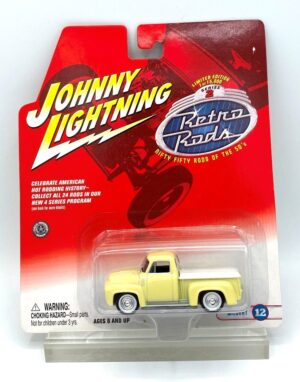 """Johnny Lightning Authentic Replicas """"Vintage Retro Rods! Limited Edition Collection Series"""" 1/64 Scale Die-Cast Vehicle (Johnny Lightning Collection Series) """"Rare-Vintage"""" (2000-2004)"""