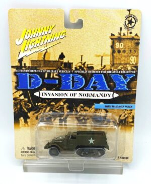 """Johnny Lightning Authentic Replicas """"Limited Edition"""" D-Day, Pearl Harbor & American Lightning Brigade Military Vehicles (Playing Mantis 1:64 Scale) """"Rare-Vintage"""" (1999-2003)"""