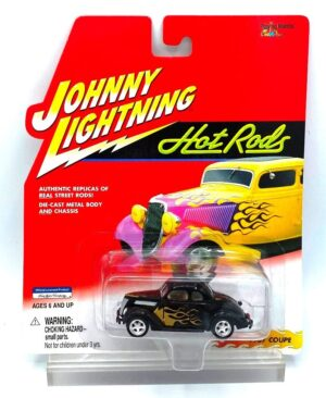 """Johnny Lightning Authentic Replicas """"Vintage Hot Rods """"Replicas Of Real Street Rods!"""" Series Collection"""" 1:64 Scale Die-Cast """"Rare-Vintage"""" (1997-2001)"""