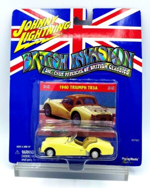 """Johnny Lightning Authentic Replicas """"Vintage British Invasion Classics Series Collection"""" 1:64 Scale Die-Cast Vehicles (Limited Edition & Real Wheels Series Collection) """"Rare-Vintage"""" (2000-2006)"""
