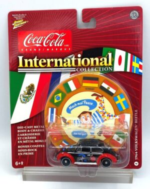 """Johnny Lightning Authentic Replicas """"Vintage Coca-Cola International! Collection"""" 1/64 Scale Die-Cast Vehicle (Johnny Lightning Collection Series) """"Rare-Vintage"""" (2000-2006)"""