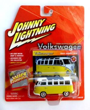 """Johnny Lightning Authentic Replicas """"Vintage Volkswagen Multi-Series"""" 1:64 Scale Die-Cast Vehicles (Limited Edition & Real Wheels Series Collection) """"Rare-Vintage"""" (2000-2008)"""