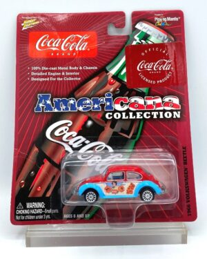 """Johnny Lightning Authentic Replicas """"Vintage Coca-Cola Americana! Collection"""" 1/64 Scale Die-Cast Vehicle (Johnny Lightning Collection Series) """"Rare-Vintage"""" (2000-2006)"""