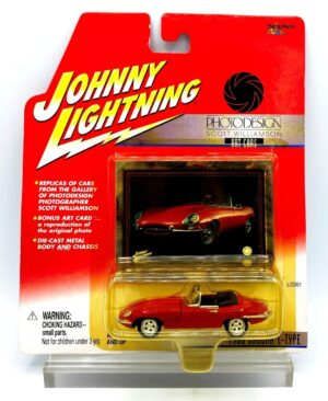 """Johnny Lightning Authentic Replicas """"Vintage Photo Design (Art Cars Series Collection )"""" 1:64 Scale Die-Cast Vehicles (Limited Edition & Real Wheels Series Collection) """"Rare-Vintage"""" (2000-2006)"""