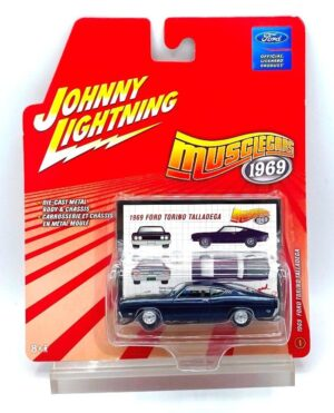 """Johnny Lightning Authentic Replicas """"Vintage MuscleCars RC2 Series"""" 1:64 Scale Die-Cast Vehicles (Limited Edition & Real Wheels Series Collection) """"Rare-Vintage"""" (2004-2007)"""