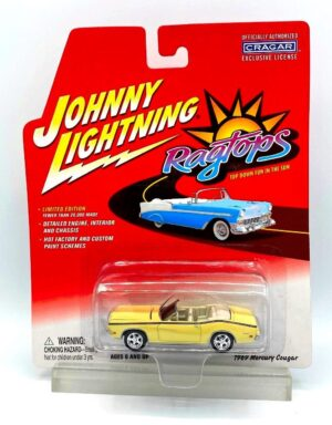 """Johnny Lightning Authentic Replicas """"Vintage Ragtops! Limited Edition Collection"""" 1/64 Scale Die-Cast Vehicle (Johnny Lightning Collection Series) """"Rare-Vintage"""" (2000-2004)"""