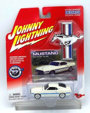 """Johnny Lightning Authentic Replicas """"Vintage Mustang 40th Anniversary & Limited Edition Series"""" 1:64 Scale Die-Cast Vehicles """"Rare-Vintage"""" (2002-2006)"""