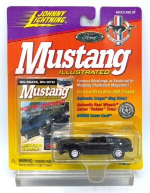 """Johnny Lightning Authentic Replicas """"Vintage Mustang Illustrated Magazine Anniversary & Limited Edition Series"""" 1:64 Scale Die-Cast Vehicles """"Rare-Vintage"""" (1996-2000)"""
