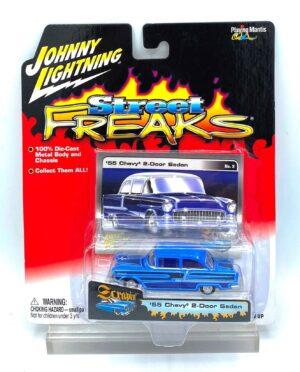 Vintage '55 Chevy 2-Door Sedan Blue (1)
