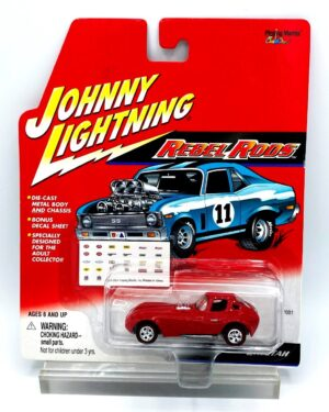 """Johnny Lightning Authentic Replicas """"Vintage Rebel Rods (Custom Rods Series Collection)"""" 1:64 Scale Die-Cast Vehicles (Limited Edition & Red Line Series Collection) """"Rare-Vintage"""" (2000-2006)"""