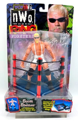 """Vintage WCW/NWO Ring Fighters Authentic Figures! (World Championship Wrestling & New World Order) Toy Biz Inc """"Rare-Vintage"""" (1999)"""