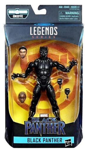 "Black Panther Legends Series! ""Build A Figure Okoye Collection series""! (Marvel Legends Series) ""Rare-Vintage"" (2016-2018)"