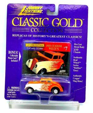 Vintage 1933 Custom Willy's Orange (1)