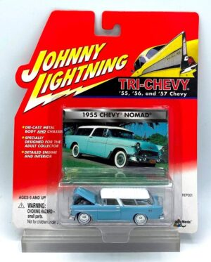 Vintage 1955 Chevy Nomad Blue (1)