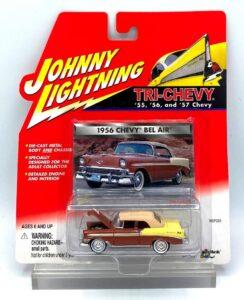 Vintage 1956 Chevy Bel Air BRN (1)