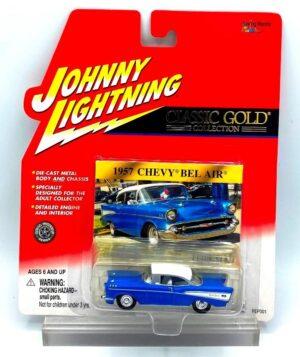 Vintage 1957 Chevy Bel Air Blue (1)