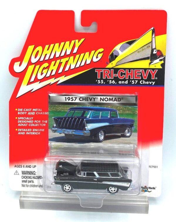 Vintage 1957 Chevy Nomad Black (1)