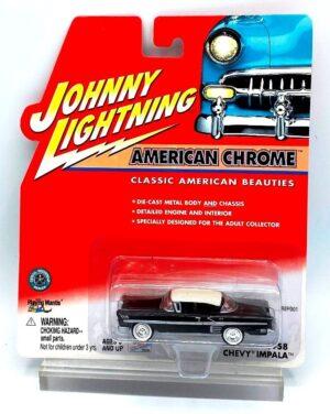 Vintage 1958 Chevy Impala Black (1)