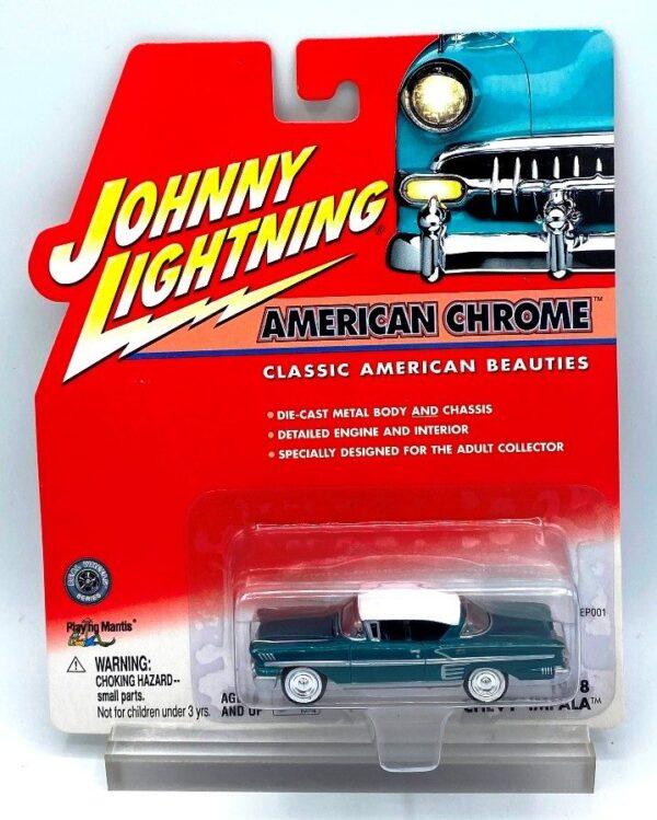 Vintage 1958 Chevy Impala Green (1)
