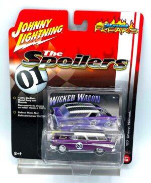 Vintage '57 Chevy Nomad Purple (1)
