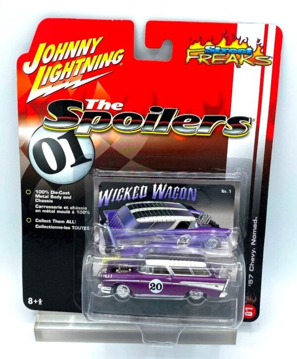 Vintage '57 Chevy Nomad Purple (1)