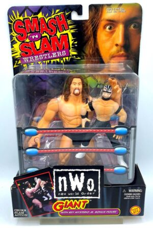 """Vintage WCW and NWO Smash N Slam Wrestlers Series Collection """"World Championship Wrestling & New World Order"""" (Toy Biz Rare Action Figures Collection) """"Rare-Vintage"""" (1999-2000)"""