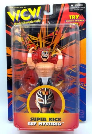 """Vintage WCW and NWO Action Wrestlers Series Collection (Toy Biz & The Original San Francisco Toy Maker) """"Rare-Vintage"""" (1990-1999)"""