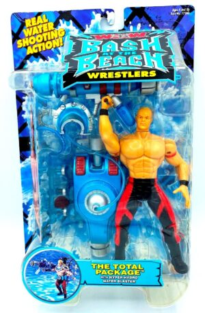 """Vintage WCW! Bash At The Beach Wrestlers Series Collection """"World Championship Wrestling"""" (Toy Biz Rare Action Figures Collection) """"Rare-Vintage"""" (2000-2001)"""
