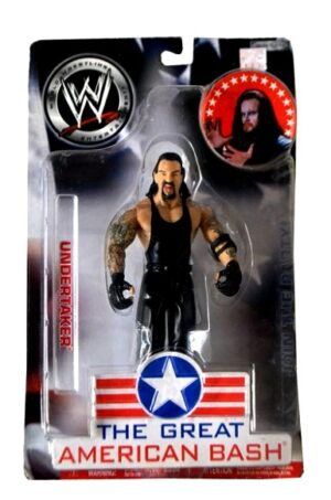 """Vintage WWE Authentic Action Figure Collection The Great American Bash (""""Winner"""" & Series) """"Rare-Vintage"""" (2004-2005)"""