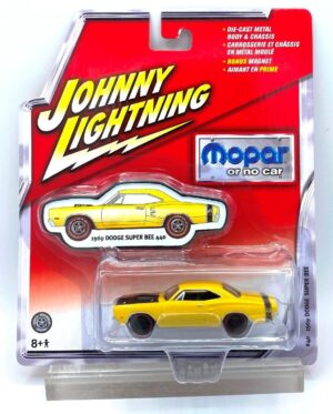 """Johnny Lightning Authentic Replicas """"Vintage Mopar or No Car RC2 Series"""" 1:64 Scale Die-Cast Vehicles (Limited Edition & Real Wheels Series Collection) """"Rare-Vintage"""" (2005-2008)"""