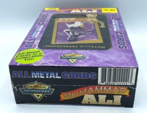 1995 MUHAMMAD ALI Embossed Metal Collector Tin 5-Card Set-4