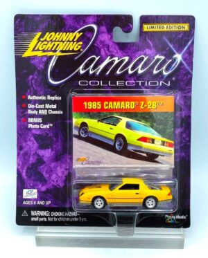 """Johnny Lightning Authentic Replicas """"Vintage CAMARO COLLECTION!Limited Edition Series"""" 1:64 Scale Die-Cast Vehicles (Limited Edition Series Collection) """"Rare-Vintage"""" (2000)"""