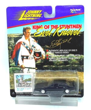 """Johnny Lightning Authentic Replicas """"Vintage Evel Knievel Most Famous Rides King Of The Stuntmen"""" (1:64 Scale Die-Cast Vehicles Collection) """"Rare-Vintage"""" (1998)"""