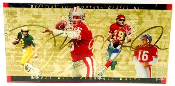 Joe Montana Career Set Collectible Edition-0000