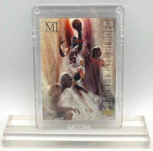 1994 Michael Jordan (GOLD SCRIPT-CHECKLIST-BASKETBALL HEROES Upper Deck-Card #45)=1pc (1)