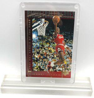 1994 Michael Jordan (GOLD SCRIPT 1985 NBA Rookie Of The Year-Basketball Heroes-UD CARD-#37)=1pc (1)