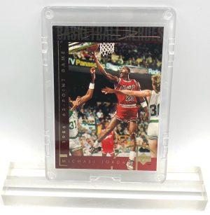 1994 Michael Jordan (GOLD SCRIPT 1986 63-Point Game-Basketball Heroes-UD CARD-#38)=2pcs (1)